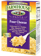 Product photo for Four Cheese Flavor Pasta
